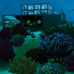 maison immergée