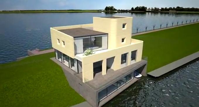 Interview de Koen Olthuis et son nouveau projet de construction sur l'eau