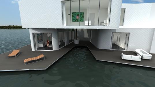 appartement flottant