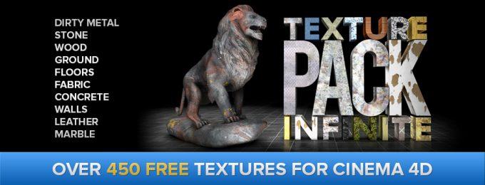 450 textures pour Cinema 4D !